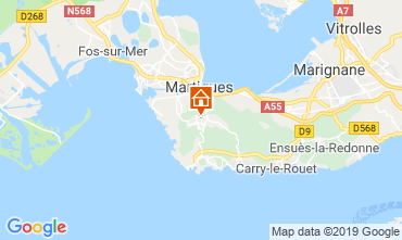Carte Martigues Gite 61577