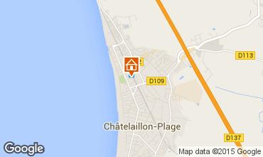 Carte Ch�telaillon plage Studio 98224