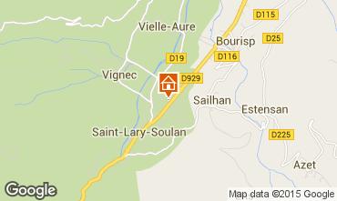 Carte Saint Lary Soulan Appartement 4488