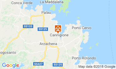 Carte Cannigione Maison 116432