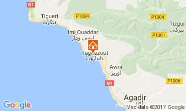 Carte Agadir Appartement 17091