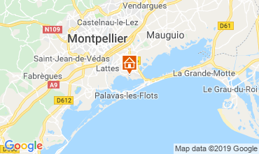 Carte Montpellier Mobil-home 118369