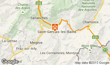 Carte Saint Gervais Mont-Blanc Appartement 29903