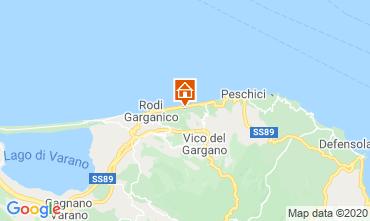 Carte Rodi Garganico Villa 87267