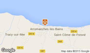 Carte Arromanches Studio 93668