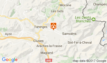 Carte Morillon Grand Massif Chalet 74243