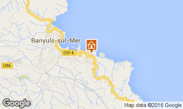 Carte Banyuls-sur-Mer Maison 94647