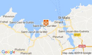 Carte Saint Briac sur Mer Mobil-home 112956