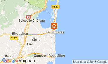 Carte Le Barcares Villa 114875