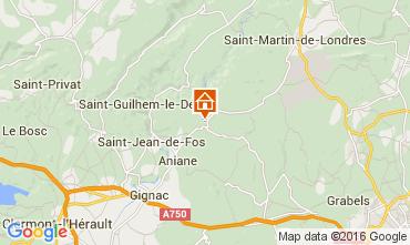 Carte Saint Guilhem le D�sert Villa 85259