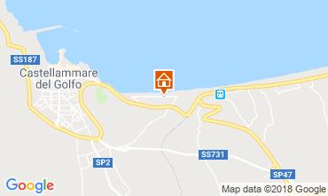Carte Castellammare del Golfo Villa 115689
