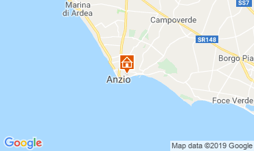 Carte Anzio Appartement 118235