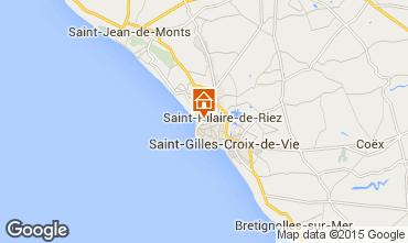 Carte Saint Hilaire de Riez Appartement 10083