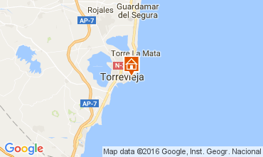 Carte Torrevieja Appartement 91265