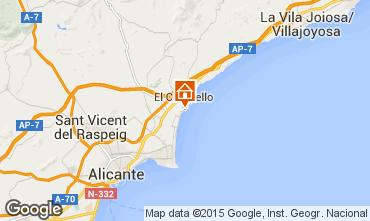 Carte Alicante Appartement 8201