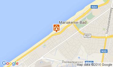 Carte Ostende Appartement 104009