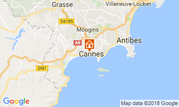 Carte Cannes Studio 89045