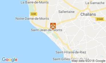 Carte Saint Jean de Monts Mobil-home 116908