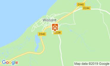 Carte Wissant Maison 16157