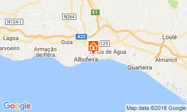 Carte Albufeira Appartement 105384
