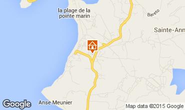 Carte Sainte Anne (Martinique) Appartement 58877