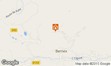 Carte Bernex Maison 4881