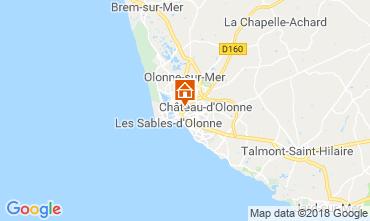 Carte Les  Sables d'Olonne Maison 113293
