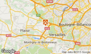 Carte Versailles Gite 15412