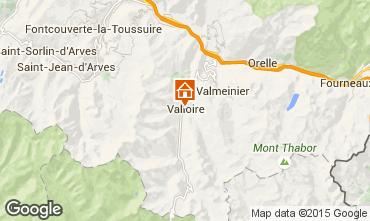 Carte Valloire Appartement 83091