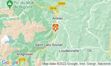Carte Saint Lary Soulan Appartement 4408