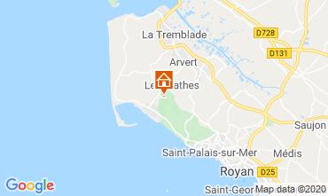 Carte La Palmyre Mobil-home 50799