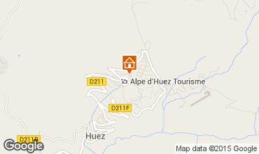 Carte Alpe d'Huez Appartement 67379