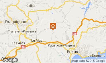 Carte Roquebrune sur Argens Villa 95485