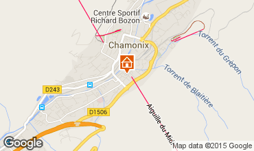 Carte Chamonix Mont-Blanc Studio 67211