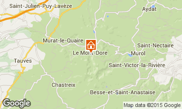 Carte Le Mont Dore Appartement 30368