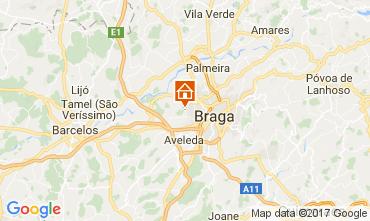 Carte Braga Gite 108806