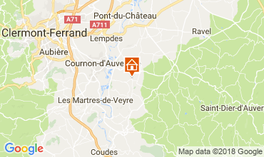 Carte Clermont-Ferrand Appartement 115557