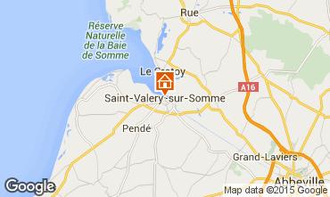 Carte Saint Valéry sur Somme Gite 94508