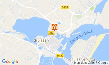 Carte Gruissan Appartement 110897