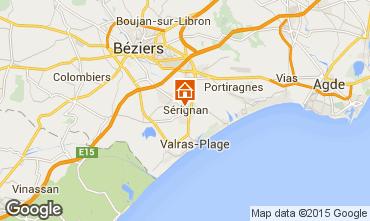 Carte Sérignan Appartement 98785