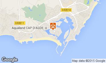 Carte Cap d'Agde Appartement 69587