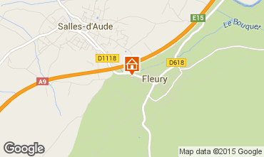 Carte Fleury d'Aude Appartement 10504