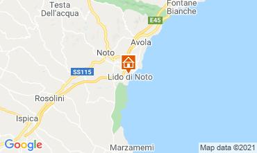 Carte Noto Villa 73068