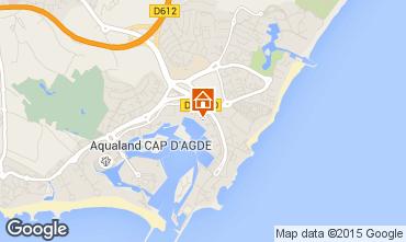 Carte Cap d'Agde Appartement 77082