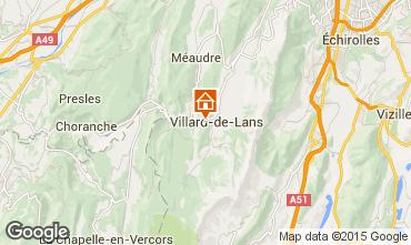 Carte Villard de Lans - Corrençon en Vercors Chalet 38572