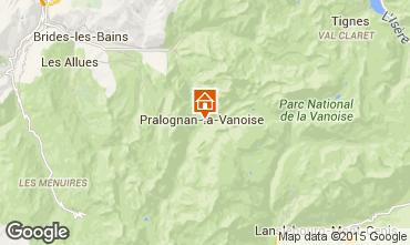 Carte Pralognan la Vanoise Maison 81037