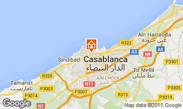 Carte Casablanca Appartement 38500