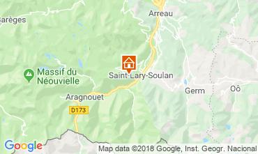 Carte Saint Lary Soulan Appartement 116962