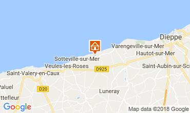 Carte Veules-les-Roses Villa 115718