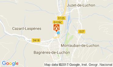 Carte Bagnères-de-Luchon Appartement 81454